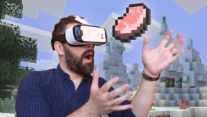 MinecraftVoVirtuálnejRealite