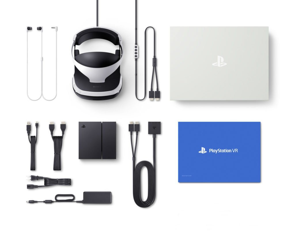 Set playstation VR