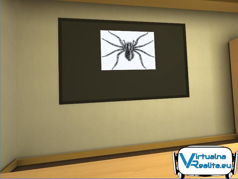 Strach z pavúkov vie liečiť virtuálna realita