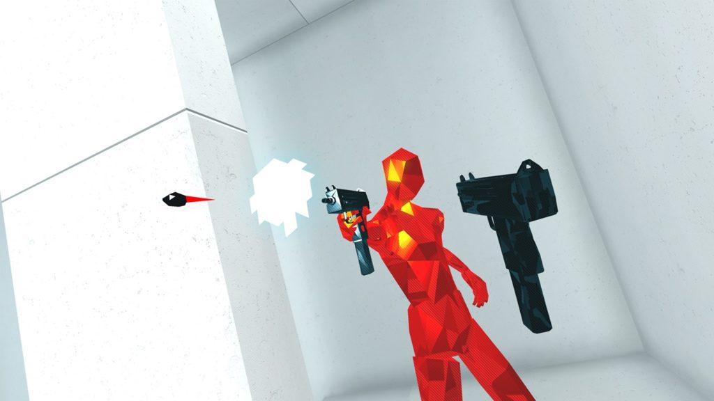 Hra pre virtuálnu realitu SuperHot VR