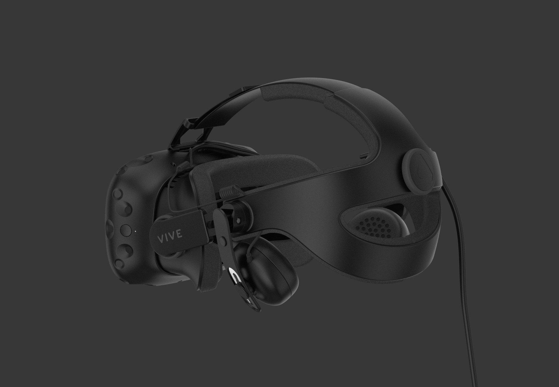 16d470053 Vive ale predstavilo nové audio príslušenstvo pre svoj headset. Deluxe  Audio Strap je priamo určený pre pripojenie k VR headsetu.