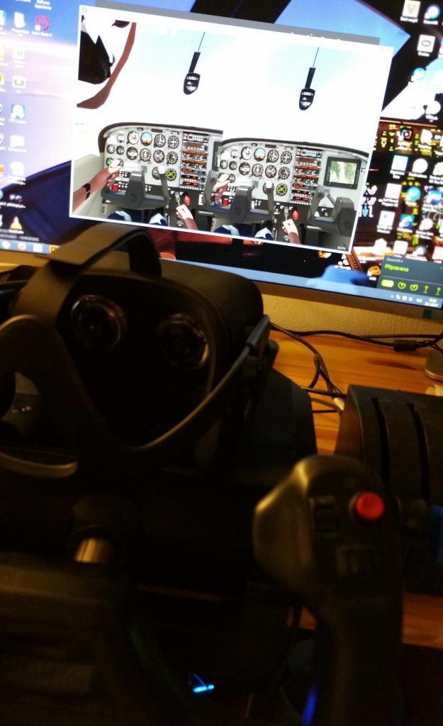 Virtuálna Realita pilotovanie