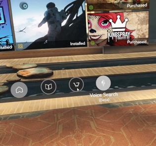 Oculus Home vyhľadávanie hlasom