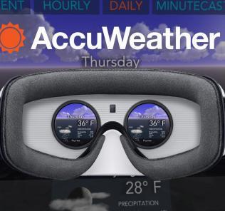 AccuWeather virtuálna realita