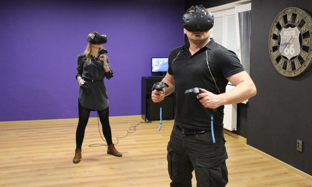 FunFlow VR herňa