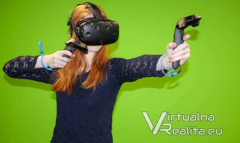 HTC Vive, virtuálna realita vytváraná do priestoru