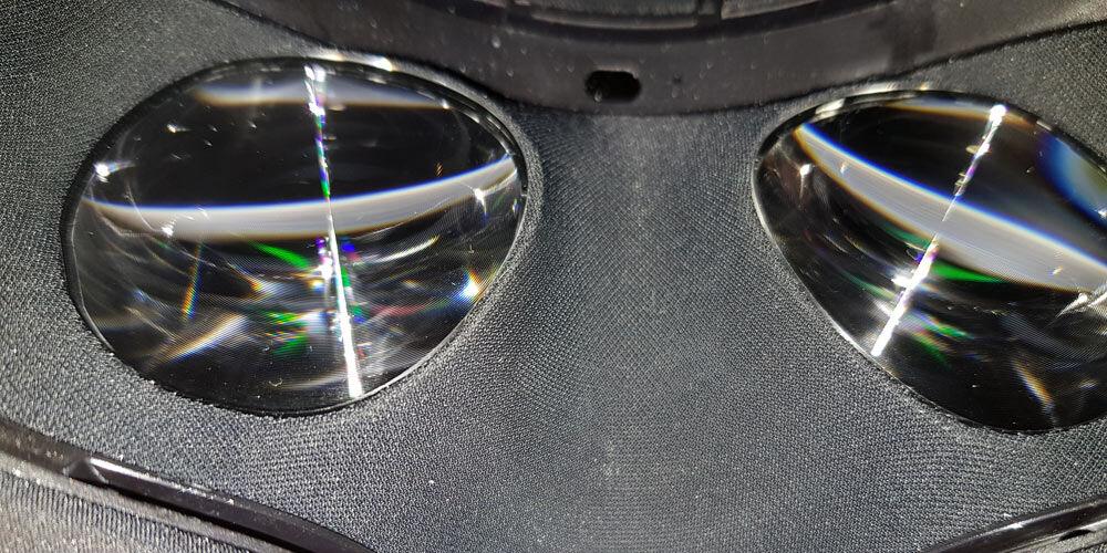 VR Headset časť pre oči